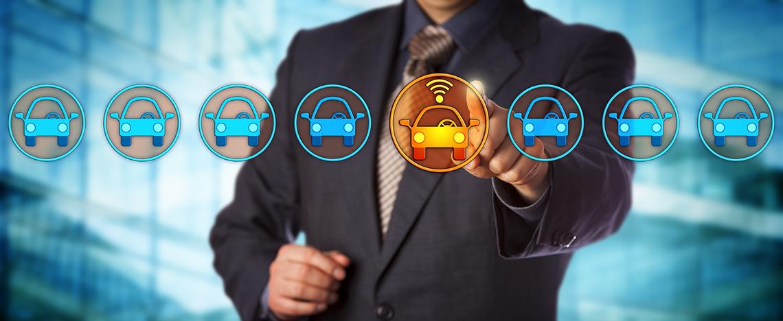 Monitoring pojazdów przedstawicieli handlowych