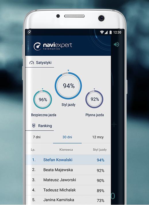 Jak wygląda aplikacja NaviExpert Telematics?