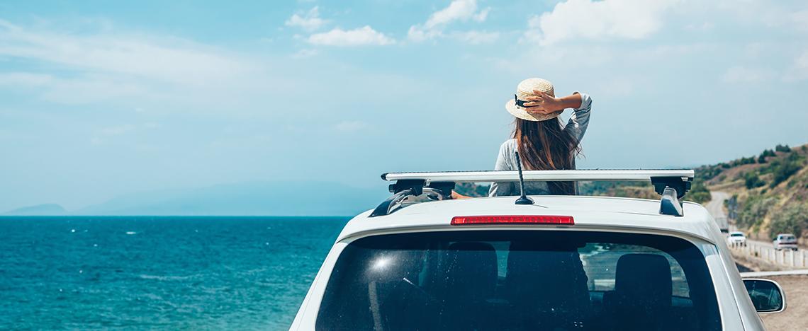 Samochodem służbowym na wakacje