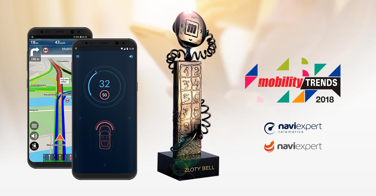 Aplikacja NaviExpert Telematics nominowana w plebiscycie Mobility...