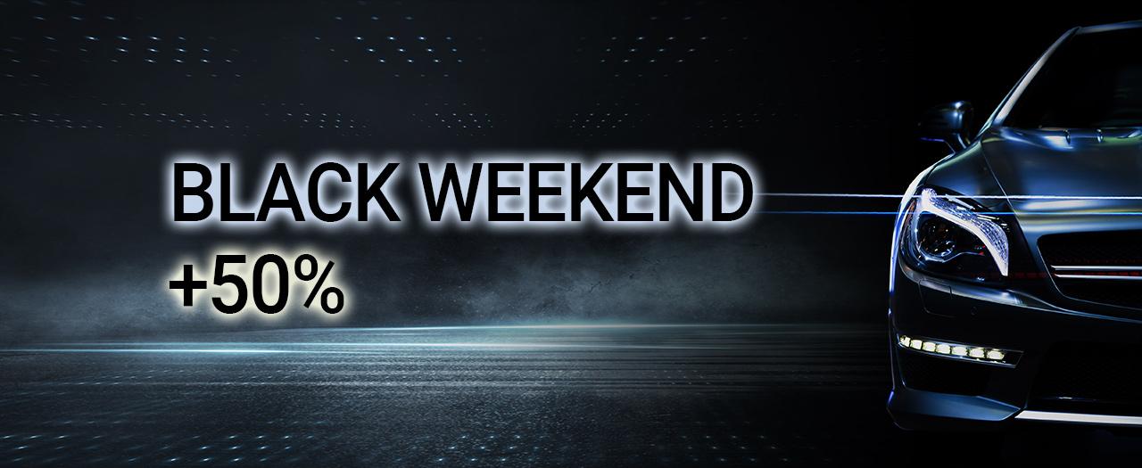BLACK WEEKEND: 1,5 roku usługi w cenie roku!